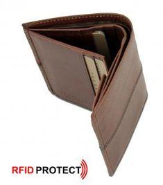 Ledergeldbörse klein The Bridge Vespucci braun RFID-Schutz The Bridge, Rind, Wallet, Pocket Wallet, Leather, Purses, Diy Wallet, Purse