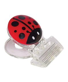 Take a look at this Ladybug Clip - Set of Three by Boston Warehouse on #zulily today!
