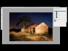 Light Painting Photography and Post-Processing in Photoshop - Tutorial