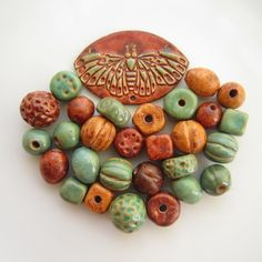 Lesley Watt beads and components