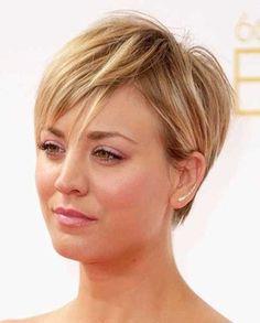 Straight Fine Pixie Hair for Women