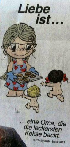 eine oma die die leckersten kekse backt