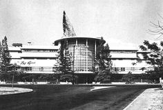 Manila Jai Alai Building in 1955 - - one of the beautiful heritage buildings in Manila that no longer exists Manila, Historical Architecture, Architecture Design, Filipino House, Philippine Architecture, Philippine Houses, Filipiniana, Thing 1, Church Building
