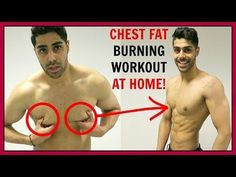 CHEST FAT BURNING WORKOUT AT HOME - NO EQUIPMENT!! - YouTube