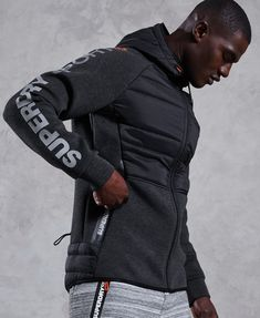 Gym Tech Stretch Hybrid Hoodie