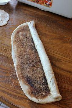 Cinnamon Rolls (Good bread dough recipe too)