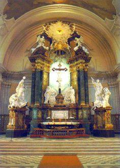 Gustav Vasa Church, Stockholm, Sweden www.stephentravels.com/top5/crucifixes