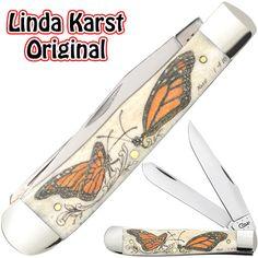 Case knives Case XX Knife Item # 91005MON - Trapper - Karst Original Scrimshaw Case Knives, New Item, Swiss Army Knife, The Originals, Swiss Army Pocket Knife