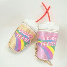 "Bolsa de copo de ""lágrimas de unicórnio"""