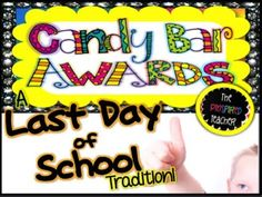 End of Year Candy Award Certificates - YouTube