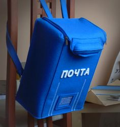 Сумка - Рюкзак Почтовый Ящик | krukrustudio - оригинальные сумки-подарки, молодежные сумки-объекты.