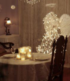such a romantic tablescape