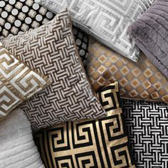 New pillows are a simple, instant update for your holiday home.