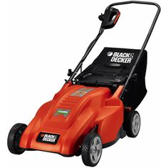 BLACK & DECKER 12-Amp 20-in Deck Width Corded Electric Push Lawn Mower with Mulching Capability