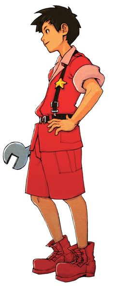 Andy - Orange Star Commanding Officer from Advance Wars and appeared in the first 3 games of the series.