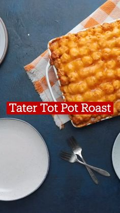 Beef Dishes, Food Dishes, Beef Recipes, Cooking Recipes, Tater Tots, Tasty, Yummy Food, Food Cravings, Love Food