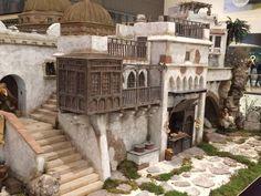 Risultati immagini per pesebres hebreos Fontanini Nativity, Building Map, Medieval Houses, Diy Planters, Miniature Houses, Inspired Homes, Interior And Exterior, Architecture Design, Pergola