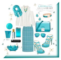 """""""Follow Your Heart"""" by cherishmm3 on Polyvore featuring Miu Miu, Rebecca Minkoff, GUESS, Michael Kors, Victoria Beckham, Kate Spade, Casetify, Marc Jacobs, Brewster Home Fashions and Cultural Intrigue"""