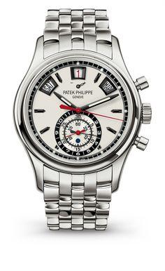 Patek Philippe Annual Calendar Chronograph Ref 5960 Steel Patek Philippe, High End Watches, Cool Watches, Rolex Watches, Latest Watches, Fine Watches, Wrist Watches, Fleurier, Audemars Piguet