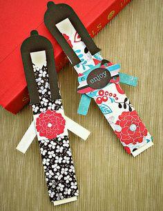 kimono-doll bookmark