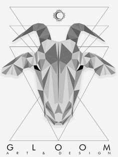 Geometric Goat on Behance