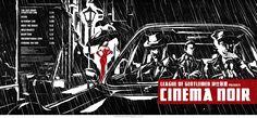 Bold noir artwork by ink illustrator James Ng. Ink Illustrations, Pencil Illustration, League Of Gentlemen, Cd Cover, Inktober, Novels, Cinema, Album, Artwork