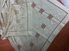 Beautiful. In silk?  Love the hemstitch finish.