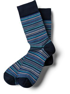 The blue, striped Business Light Socks provide subtle highlights. The blue tones freshen up your outfit and calm your mind. Subtle Highlights, Trouser Socks, Blue Tones, Blue Stripes, Calm, Classic, Cotton, Outfits, Fashion