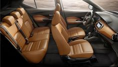 Nissan is all set with its all-new global compact crossover car, named Nissan Kicks. During Cricket world cup, Nissan Crossover Cars, Nissan Kicks, Nissan Titan, Interior Photo, Car Seats, Automobile, Vehicles, Car Stuff, Color