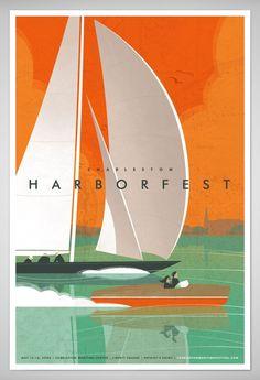 charleston harborfest poster