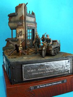 Dioramas and Vignettes: Kettenkraftrad. German Army in France, 1944, photo #1