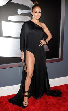 Jennifer Lopez at the 2013 Grammys