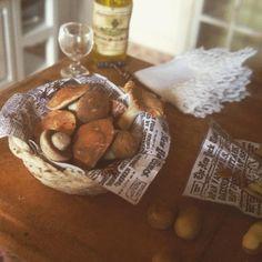 Funghi e patate in scala 1:12