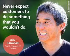 Bannersnack Ad Talk with the first Chief Evangelist, Guy Kawasaki  #canva #guykawasaki #quote #design #interview