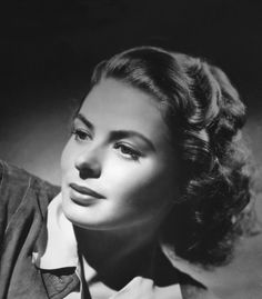 Simply STUNNING!  Ingrid Bergman ~~ perhaps you know her as Isabella Rossellini's mother!