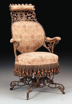 История вещей, костюма, искусства, мебели, интерьера и быта от художника кино. - Из истории крутящегося кресла.