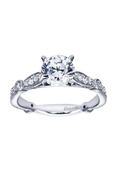 Engaged by Gabriel & Co. - W-ER6711D4 - Engagement Ring