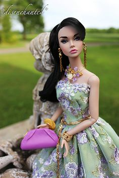 Paris in the Springtime Poppy Parker | wearing a dress by th… | Flickr