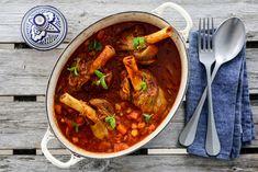 LAMMESKANKER MED SMAK AV MAROKKO Ras El Hanout, Thai Red Curry, A Food, Lamb, Food Porn, Soup, Ethnic Recipes, Morocco, Soups