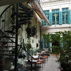 The Green Tangerine Café & Restaurant in Hanoi's old quarter.