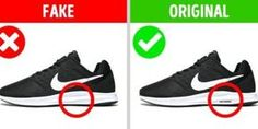 11 Signs That Will Help You Tell the Difference Between a Fake and an Original - Page 11 of 11 - Inspiral Viral Weight Loss Blogs, Weight Loss Help, Weight Loss Motivation, Nike Signs, Nike Original, Gym Workout Tips, Weight Loss Inspiration, Nike Free, Sneakers Nike