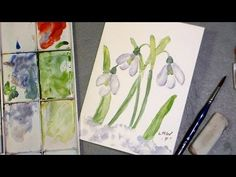 Lindsay - Let's paint snowdrops!