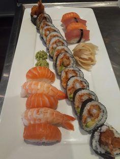 Combo i sushiwoki