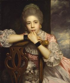 """Mrs. Abington as Miss Prue in 'Love for Love' by William Congreve,"" 1771, Sir Joshua Reynolds  Wonderful painting. Reynolds has capture her intelligence which shines from her gaze"