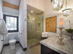 Guest Bathroom Pictures From HGTV Dream Home 2014