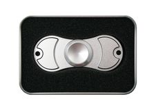 Finally in: Silver Spinner Sq...  Get it while its here! http://www.offthewalltoysandgifts.com/products/silver-spinner-squad-metal-dual-edition-fidget-spinner-w-carrying-case?utm_campaign=social_autopilot&utm_source=pin&utm_medium=pin