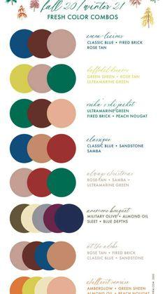 Color Combinations For Clothes, Color Combos, Fashion Color Combinations, Color Schemes, Three Color Combinations, Color Pairing, Wardrobe Color Guide, Pantone Color Chart, Pantone 2020
