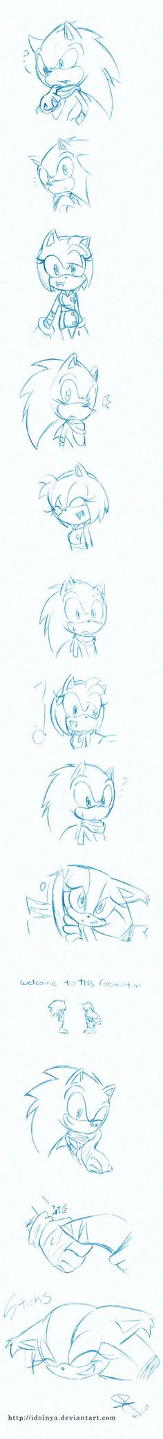 Welcome To Sonic Boom by idolnya WELCOME STICKS