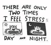 stress cartoons - Google Search