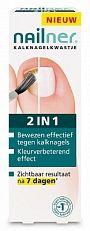 Nailner Kalknagelkwastje 2 In 1 - Repair Brush 5ml  Een schimmelnagel is een ongemakkelijke kwaal. Om verdere uitbreiding te voorkomen is het belangrijk om een kalknagel snel te bestrijden. Nailner biedt met het gebruiksvriendelijke kalknagelkwastje een efficiënte oplossing om kalknagels vanaf de bron aan te pakken.Kenmerken- bewezen effectief tegen kalknagels- na 7 dagen is de geïnfecteerde nagel duidelijk verbeterd - herstelt optimaal de kleur en het gehele uiterlijk van de nagel…